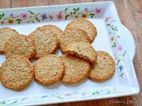 黑芝麻椰香餅乾