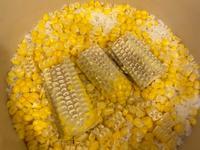 <今天在家吃>鐵鑄鍋 玉米飯