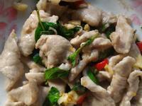 蒜香辣炒肉片