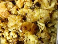 刺蔥香菇拌豆包(全素)