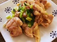鹽煎蔥油雞 (露營OK)