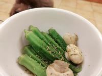 【宵夜解饞小點】川燙秋葵蘑菇🤤好吃