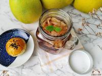 鮮柚蜂蜜紅茶♥飲一種名為中秋的茶味!