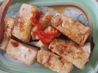 [簡單吃]煎豆腐