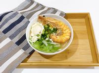 [澎湖料理]明蝦海鮮麵