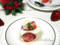 [草莓就愛鷹牌煉奶]草莓煉奶寒天果凍