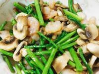 蘆筍炒蝦仁(減醣)
