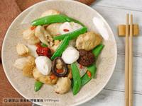 暖心猴頭菇素腰花|觀音山素食料理簡單做