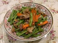 🌟四季豆炒肉絲