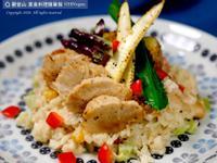 麻油猴頭菇燉飯🧀奶素