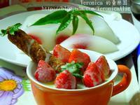 《草莓就愛鷹牌煉奶》草莓煉奶雪凍