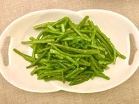 熱拌蒜香四季豆