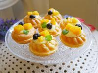 不失敗「芒果泡芙甜甜圈」酥脆外殼好好吃~