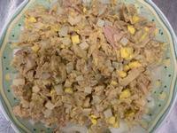 茶葉蛋鮪魚洋蔥涼拌