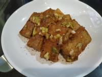 味噌油豆腐排