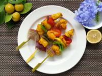 減鹽增健康 薑黃彩椒雞肉串