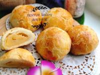 菠蘿奶黃月餅(港式奶黃餡)
