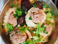 泰式苦瓜鑲肉火鍋