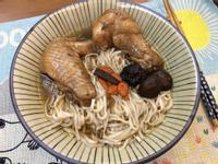 老菜脯香菇雞湯麵