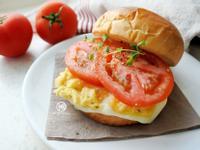 蕃茄起司蛋漢堡