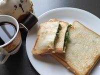 美味早餐自己來─胡椒蔥壓土司