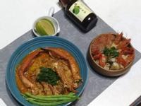 火辣泰式協奏曲:辣炒螃蟹、螃蟹草蝦冬蔭湯