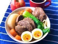 清燉牛肉麵(切好再滷)