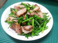 臘肉韭菜花