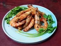 奶油蒜香大明蝦