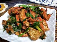 塔香蠔油炒石蟹
