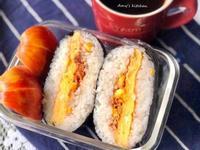 早餐-厚蛋鮪魚玉米飯糰