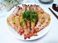 蒜蓉粉絲蒸明蝦