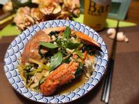 九層塔香炒石蟹(吮指回味下酒菜)