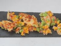 毛豆櫻花蝦起士煎餅