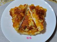 鳳梨香蕉披薩(甜味)