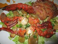澎湖石蟹麻油杏鮑菇