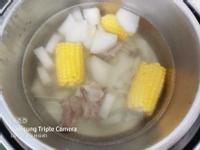 蘿蔔排骨玉米湯(電鍋版)
