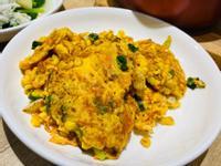 玉米紅蘿蔔絲炒蛋