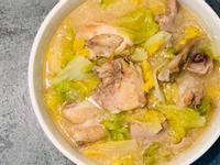 白醬土雞肉燉白菜