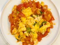 番茄(蔥花)炒蛋