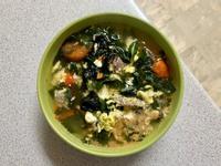 番茄牛肉紫菜蛋花湯(可加麵或飯🍲