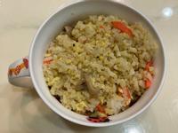麻油菇菇蛋炒飯