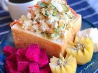 早午餐-馬鈴薯沙拉  (生吐司)