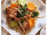 什錦蔬菜炒肉片(露營OK)