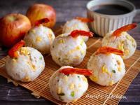 早餐-鮮蝦飯糰  (清冰箱)