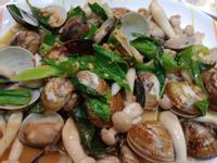 香辣菇菇蛤蜊