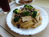 【一個人的廚房】蕈菇雞肉義大利麵