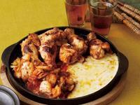 韓式起司辣炒雞翅小腿