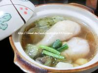 白菜燉雞湯