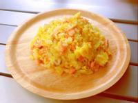鮭魚蔬菜蛋炒飯